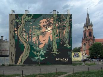 Wkrótce Sosnowiec będzie miał kolejny mural!
