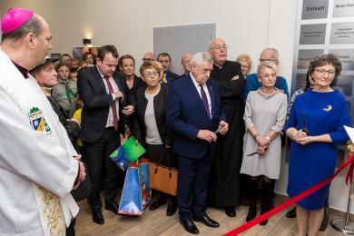 Zagłębiowskie Hospicyjne Centrum Wsparcia Opiekuńczo-Rehabilitacyjno-Psychologicznego otwarte