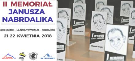 Już w kwietniu II edycja Memoriału Janusza Nabrdalika