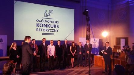 Plateranin w finale ogólnopolskiego Konkursu Retorycznego