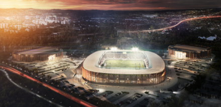 Zagłębiowski Park Sportowy - projekt budowlany gotowy