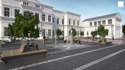 Projekt zmian na placu przed dworcem gotowy [ZDJĘCIA]