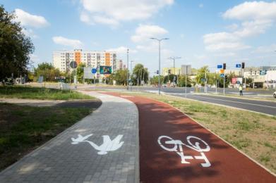 Droga rowerowa do Dąbrowy Górniczej coraz bliżej