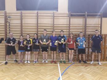 Wielkanocny Turniej Tenisa Stołowego o Puchar Trenera UKS Dwójka Sosnowiec - wyniki