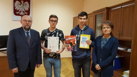 Uczniowie CKZiU finalistami konkursu