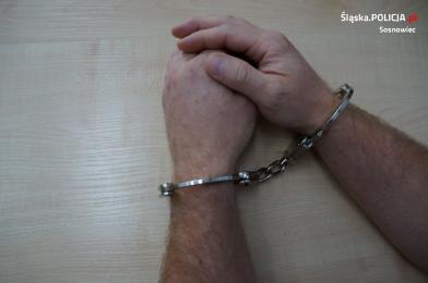Sosnowiecki: zatrzymanie agresywnego wandal