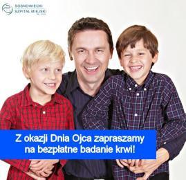 Dzień Ojca w Sosnowieckim Szpitalu Miejskim