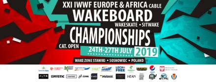 Gwiazdy wakeboardingu z Europy i Afryki powalczą o medale Sosnowcu!