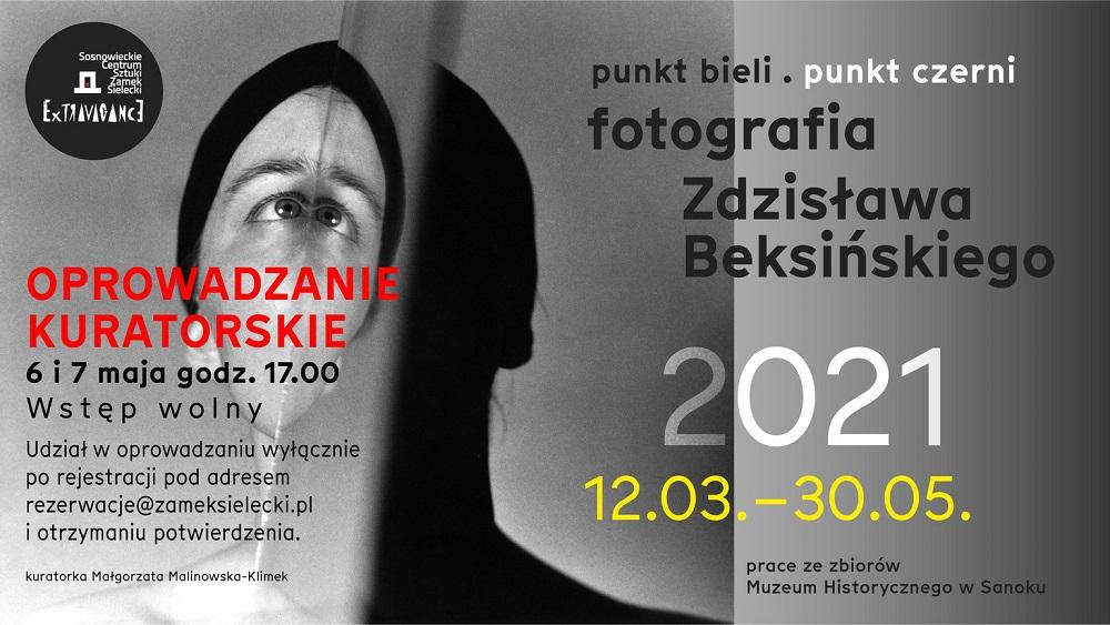 """""""Punkt bieli. Punkt czerni. Fotografia Zdzisława Beksińskiego"""""""