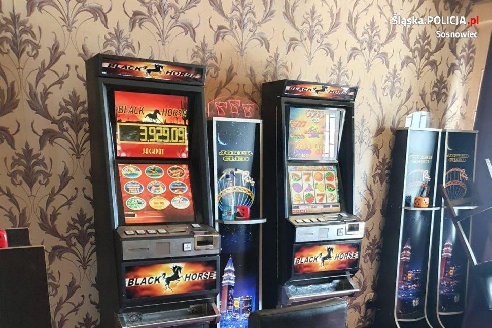 Policja znalazła nielegalne automaty do gier