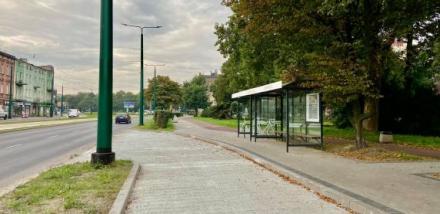 Nowe przystanki autobusowe przy I Komisariacie Policji