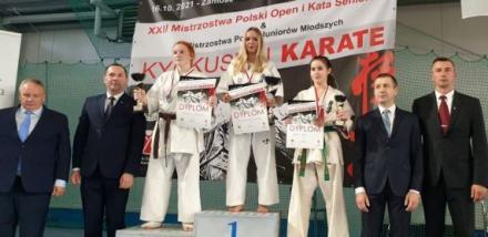 Złoty medal dla zawodniczki sosnowieckiego Klubu Karate