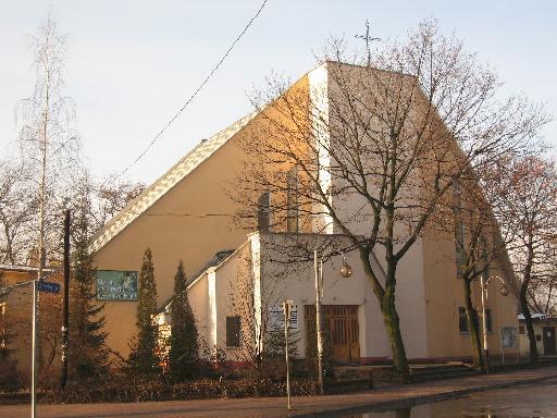 Parafia Stary Sosnowiec - Kościół pw. św. Józefa Rzemieślnika