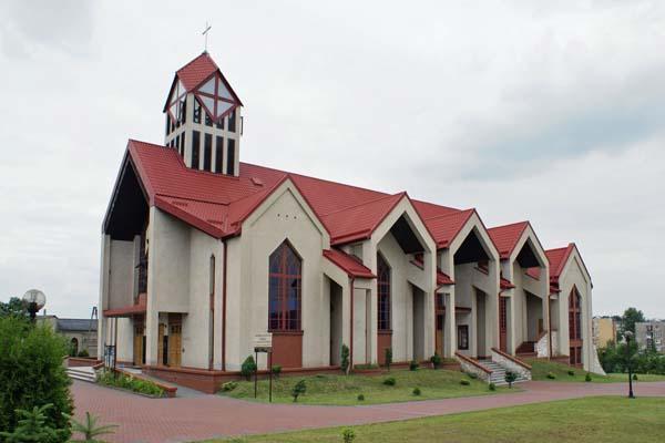 Parafia Zagórze - Kościół pw. Zesłania Ducha Świętego