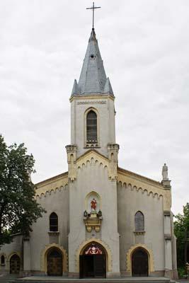 Parafia Sielec - Kościół pw. św. Barbary