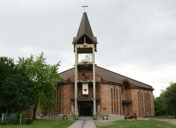 Parafia Stary Sosnowiec - Kościół pw. św. Rafała Kalinowskiego