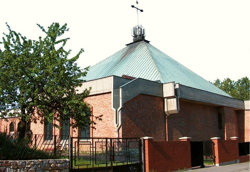 Środula - Kościół pw. Podwyższenia Św. Krzyża