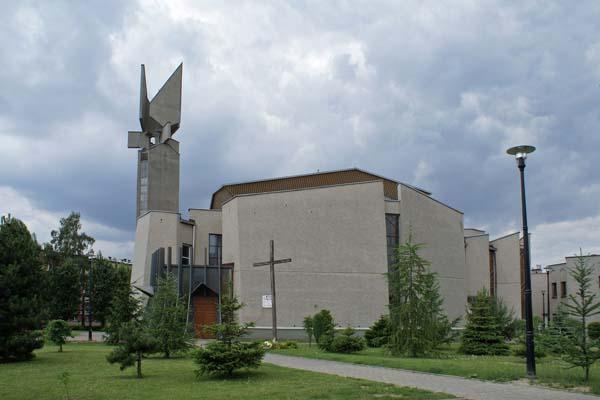 Stary Sosnowiec - Kościół pw. Nawiedzenia Najświętszej Maryi Panny