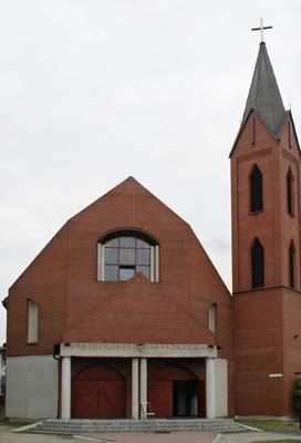 Parafia Kazimierz - Kościół pw. Najświętszego Ciała i Krwi Chrystusa
