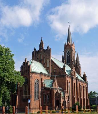 Parafia Niwka - Kościół pw. św. Jana Chrzciciela