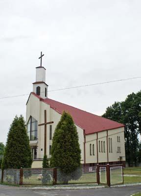 Parafia Ostrowy Górnicze - Kościół pw. Matki Bożej Nieustającej Pomocy