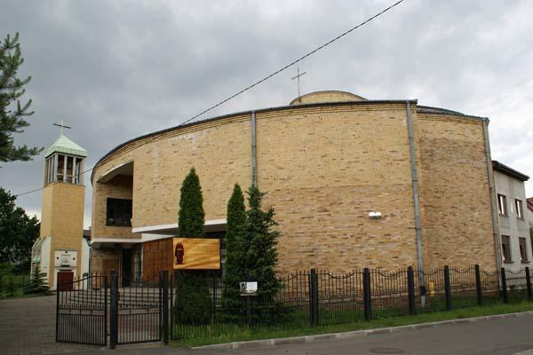 Parafia Milowice - Kościół pw. św. Alberta Chmielowskiego