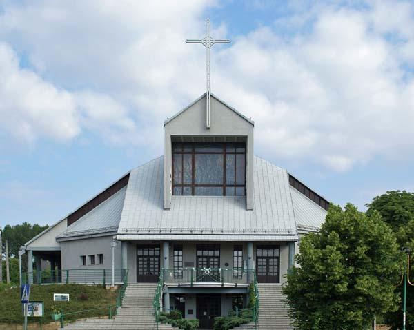 Parafia Dańdówka -  Kościół pw. św. Jacka