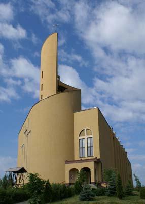 Dańdówka - Kościół pw. św. Stanisława BM