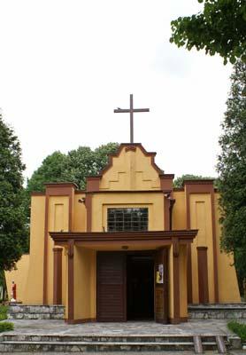 Klimontów - Kościół pw. Jezusa Chrystusa Króla Wszechświata
